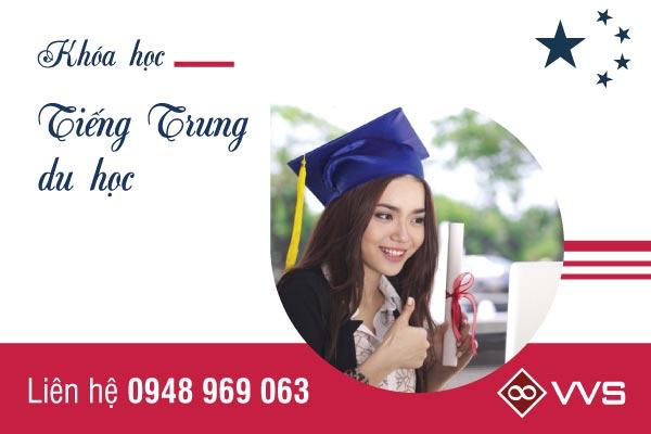 Khóa học tiếng Trung dành cho các bạn học viên đi du học nước ngoài