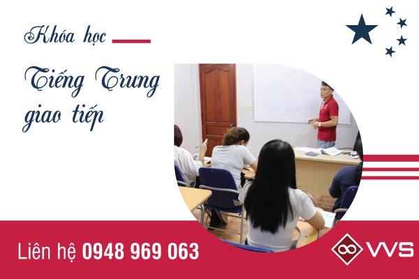 Chương trình học dành cho các học viên mới bắt đầu học tiếng Trung tại VVS