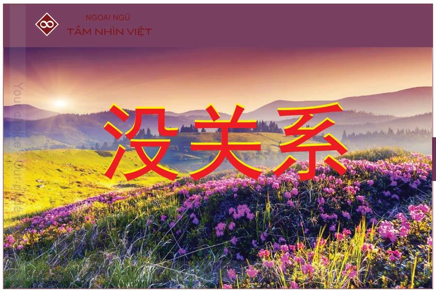 Không có chi từ vựng tiếng Trung Hoa