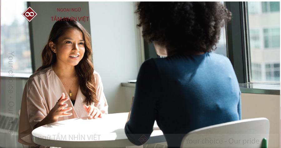 Đoạn giao tiếp đối thoại trong tiếng Trung phỏng vấn