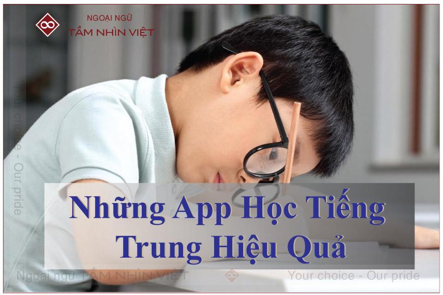 App học tiếng Trung hiệu quả