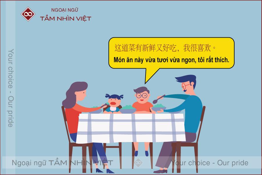 Mẫu câu tiếng Trung nói về cảm xúc