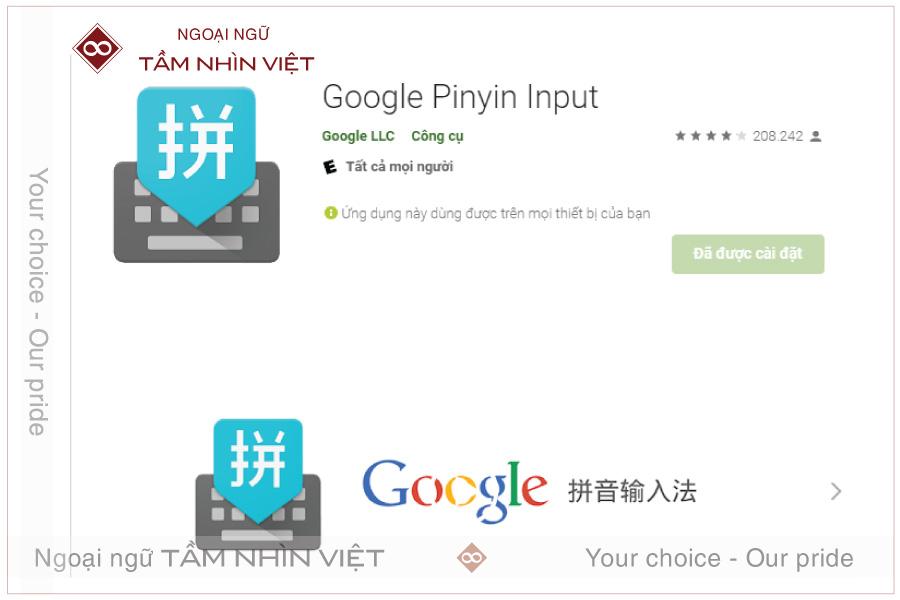 Cài đặt bàn phím tiếng Trung từ bên thứ ba cho điện thoại