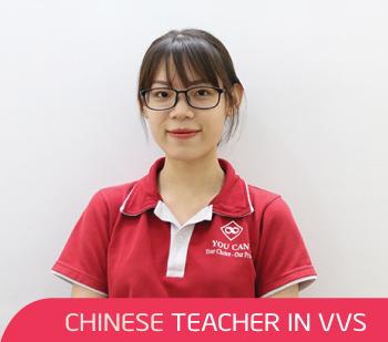 Cô Lệ - Giáo viên tiếng Trung tại VVS