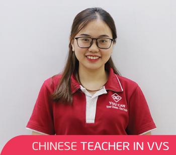 Cô Nhung - Giáo viên tiếng Trung tại VVS