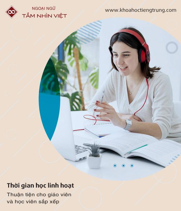 Đăng ký học tiếng Trung Online tại Hoa ngữ Tầm Nhìn Việt