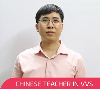 Thầy Hòa - Giáo viên tiếng Trung tại VVS
