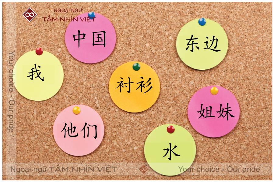 Phân loại danh từ cơ bản trong tiếng Trung