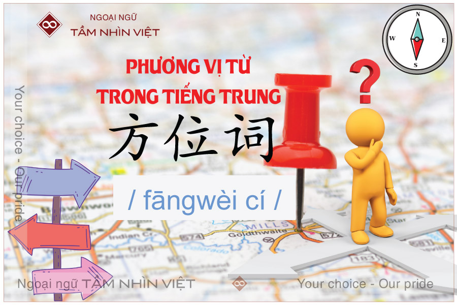 Phương vị từ trong tiếng Trung là gì