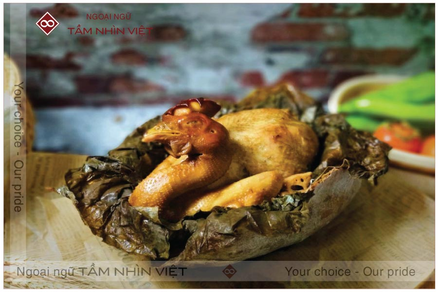 Ẩm thực Trung Quốc với món Gà nướng đất sét cực ngon