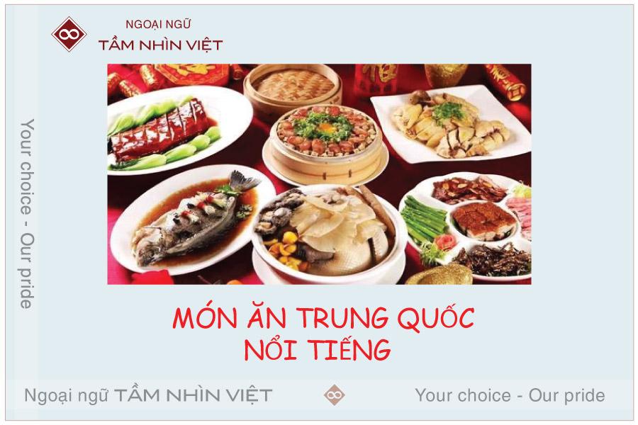 TOP 10 Món ăn Trung Quốc nổi tiếng nhất